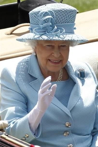Elizabeth à Ascot