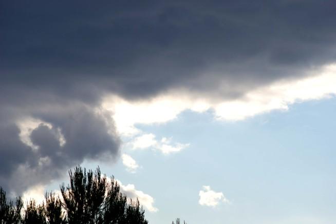 Nuages Bleu blanc gris 11536