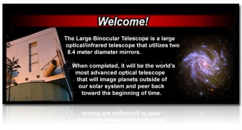 Visitez les grands télescopes !