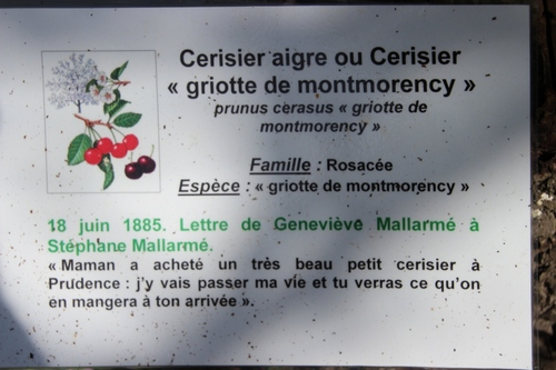 Chez Stéphane Mallarmé, à Vulaines