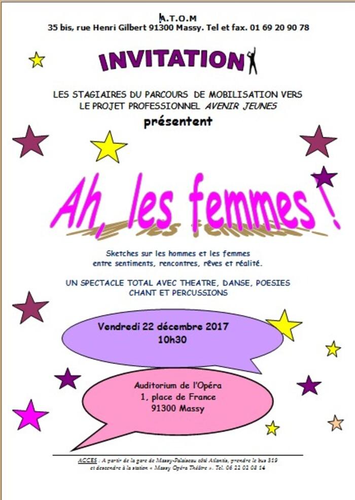 Avenir Jeune - Invitation Auditorium de Massy le 22/12/17