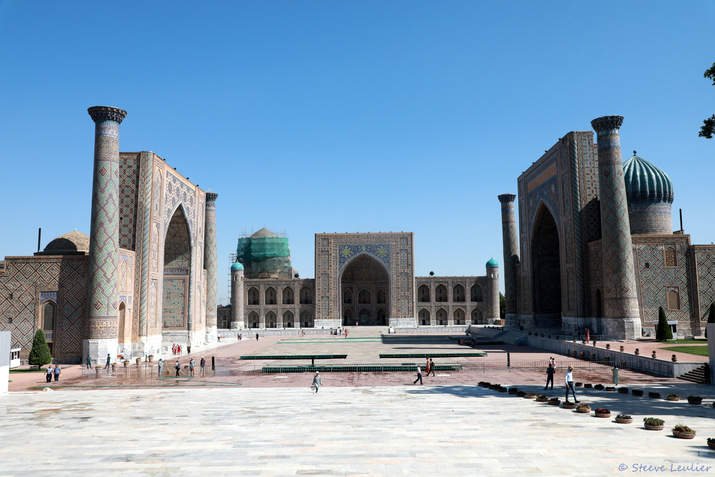 Le Régistan, Samarcande, Ouzbékistan 2019