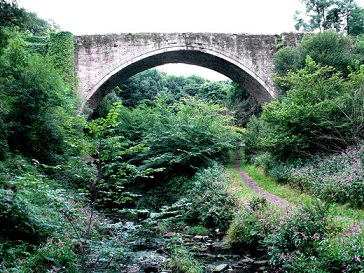 Le premier pont ferroviaire ...