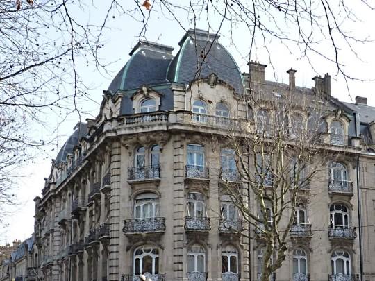Façades de Metz 8 blanc 26 01 2010
