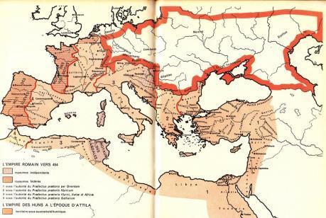 L empire en 454