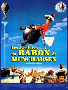 LES AVENTURES DU BARON DE MUNCHAUSEN BOX OFFICE FRANCE 1989