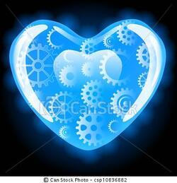 mon coeur de robot