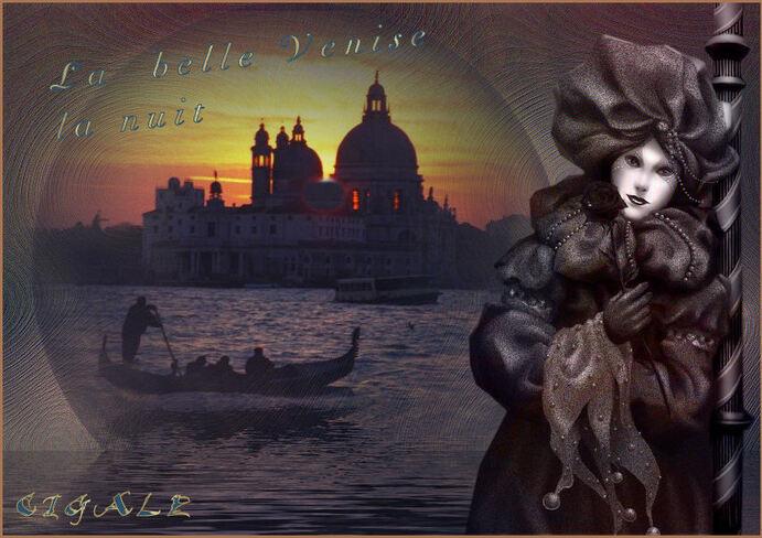 Carnaval à Venise.