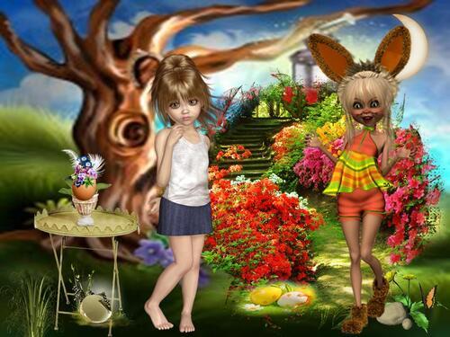 allen ein tolles sonnieges osterfest von jasmin damaro    osterbilder