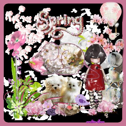gifs printemps - spring