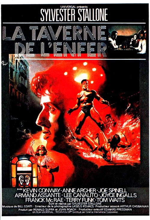 LA TAVERNE DE L'ENFER - BOX OFFICE SYLVESTER STALLONE 1979