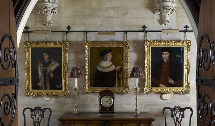 Château d'ARUNDEL #2 : De prestigieux peintres ont réalisés ces portraits : Van Dyck, Gainsborough, Canaletto.(photos empruntées au web)