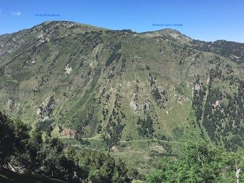 On est encore très haut au dessus du Val de Galbe