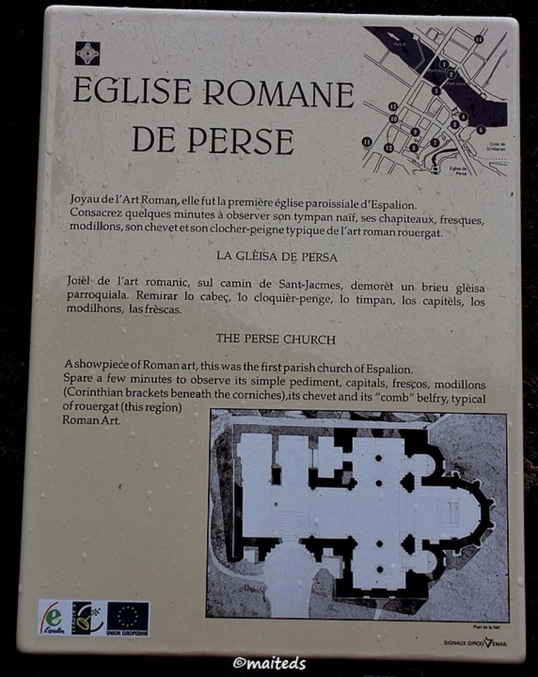 Eglise de Perse - Espalion - Aveyron