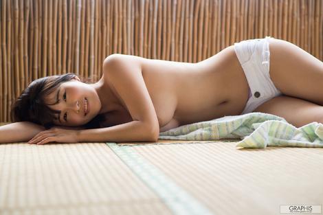 "WEB Gravure : ( [Graphis] - | Graphis Gals - Serie.2 | Asuna Kawai/河合あすな : ""Godly beautiful breast"" )"