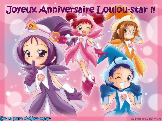 Happy birthday Loulou-star !