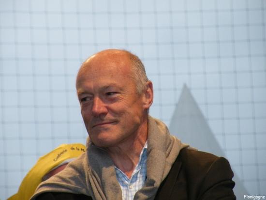 Alain Rousset à la fête de la morue de Bègles en 2010
