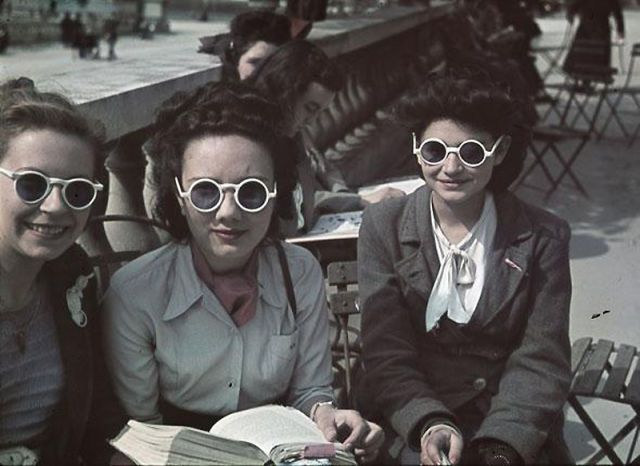 Andre Zucca: Nazi Propaganda Photos - Paris during WW251