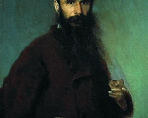 Portrait of the artist Alexander Dmitrievich Litovchenko  - Ivan Kramskoy