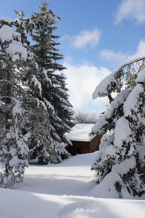 parc du pilat en hiver
