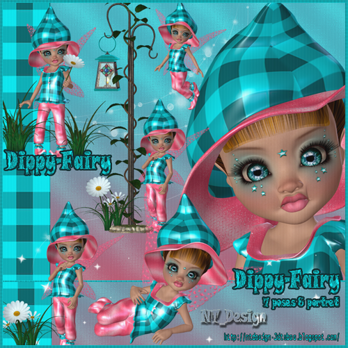 3d Dippy Fairy
