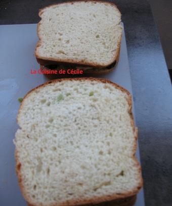 Sandwich olympique à l'Avocat