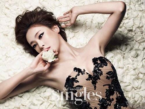 Lee Da Hee pour Single