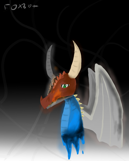 Un dragon...