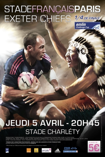 Affiche SF - Exeter Chiefs