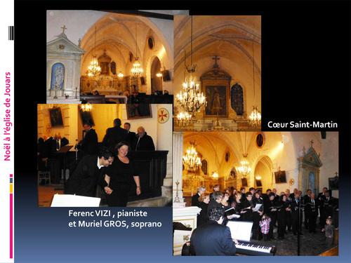 Récital de Noël à l'église Saint-Martin de Jouars