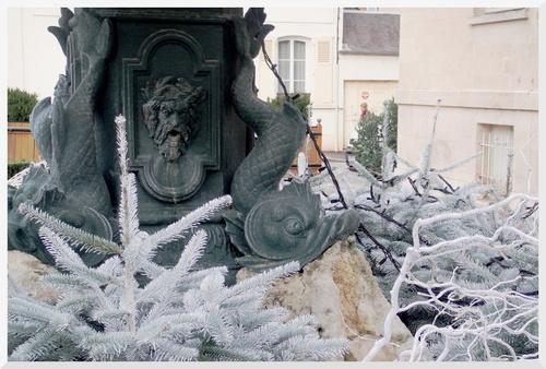 Vernon. Décoration Noël