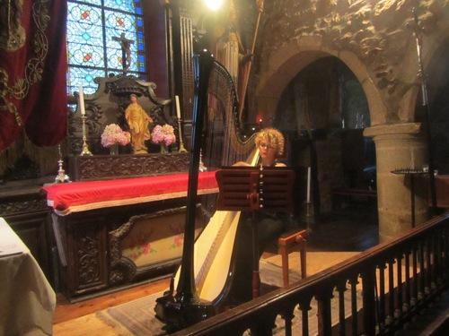 Chapelle: une harpe pour clore le cycle des concerts
