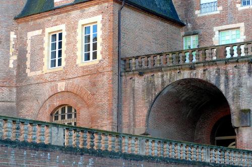 Albi: extérieurs du palais de la Berbie