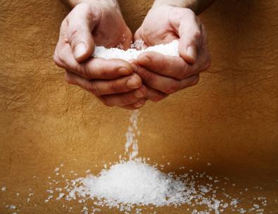 Le sel bénit