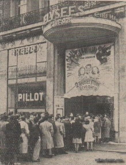 Box-office de l'Elysées Cinéma - De 1841 à 1942