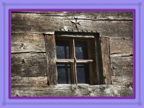 Une croix, c'est une fenêtre