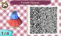 [ QR code acnl ] Hanyuu Furude