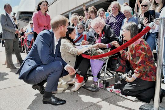 Harry et Meghan en Australie