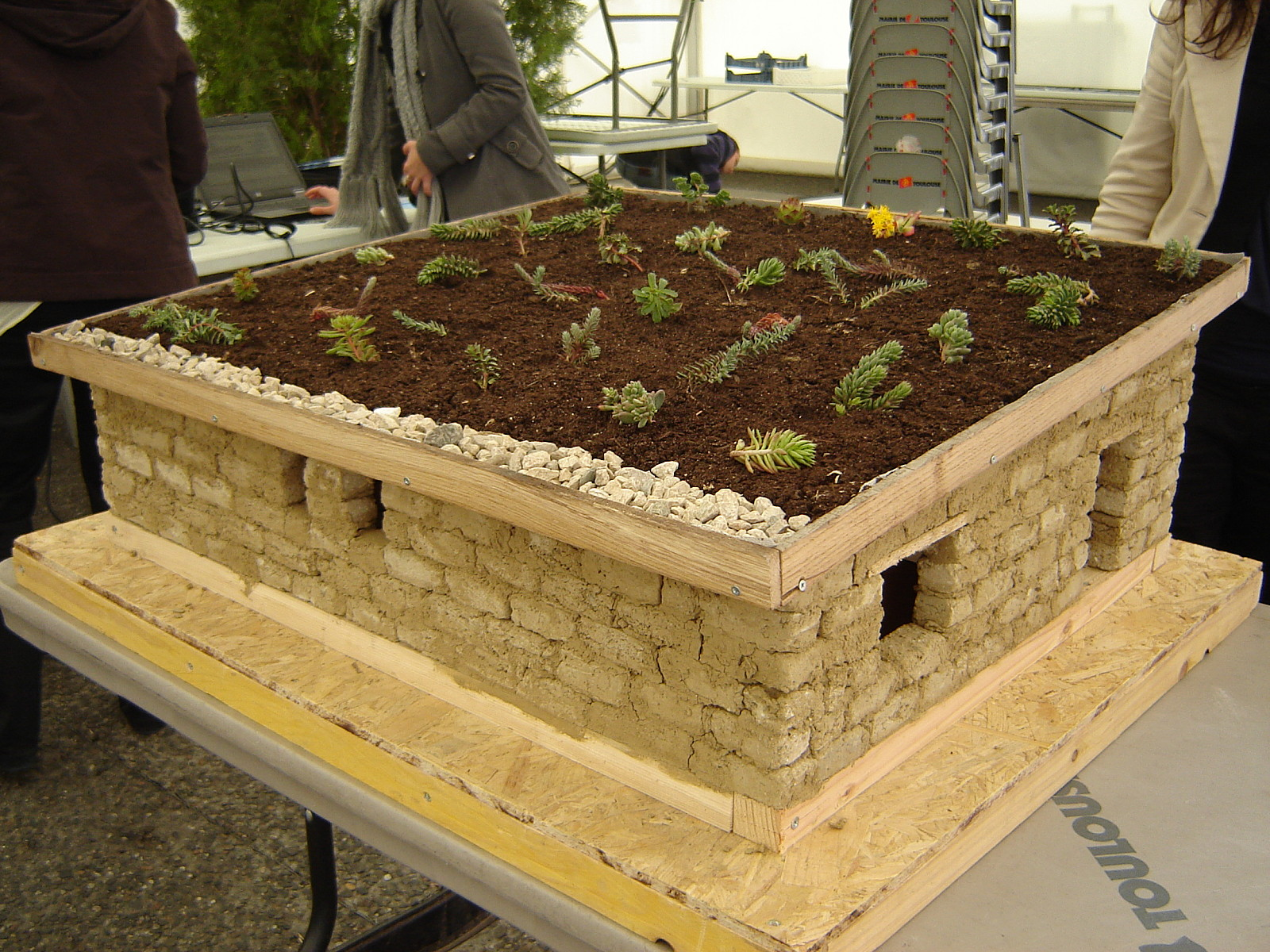 Projet maquette dune maison écologique