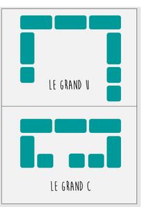 Les configurations de travail dans une classe flexible
