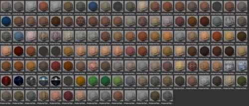 Matériaux keyshot 6 pack 01