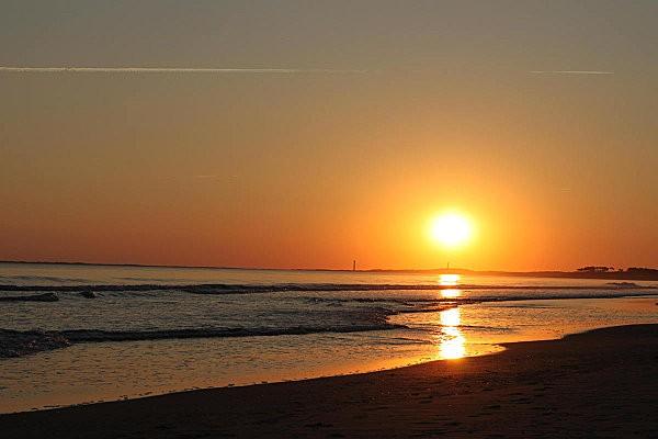 coucher de soleil sur Bonne Anse depuis la Grande Côte2