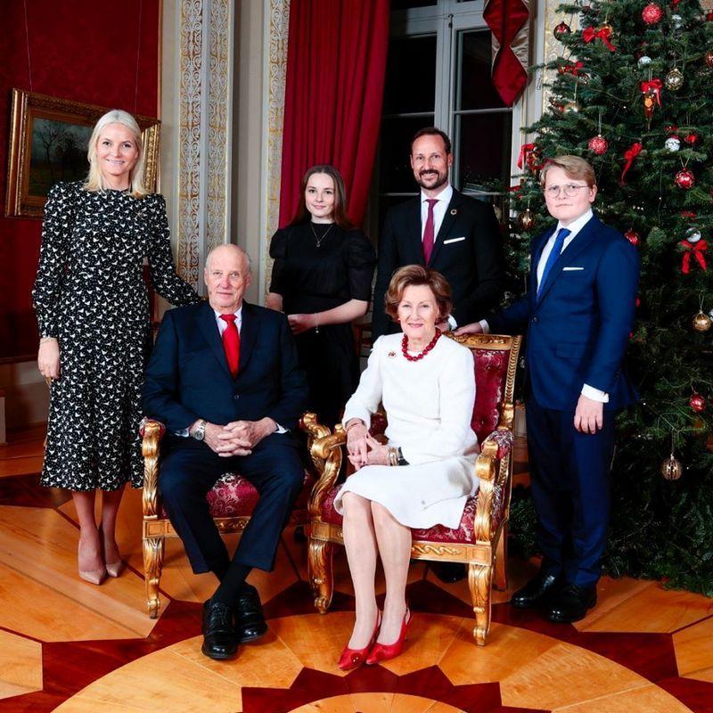 Julefotografering på Slottet