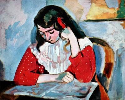 Matisse 15  /  Marguerite , la fille du peintre