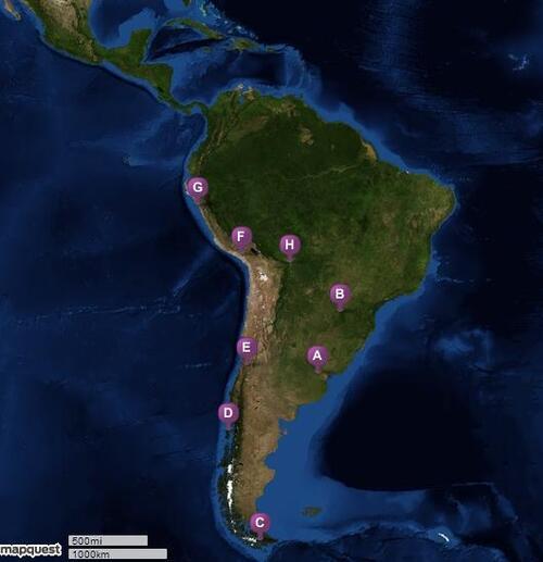 De Buenos Aires à Santa Cruz [par la ville la plus australe]
