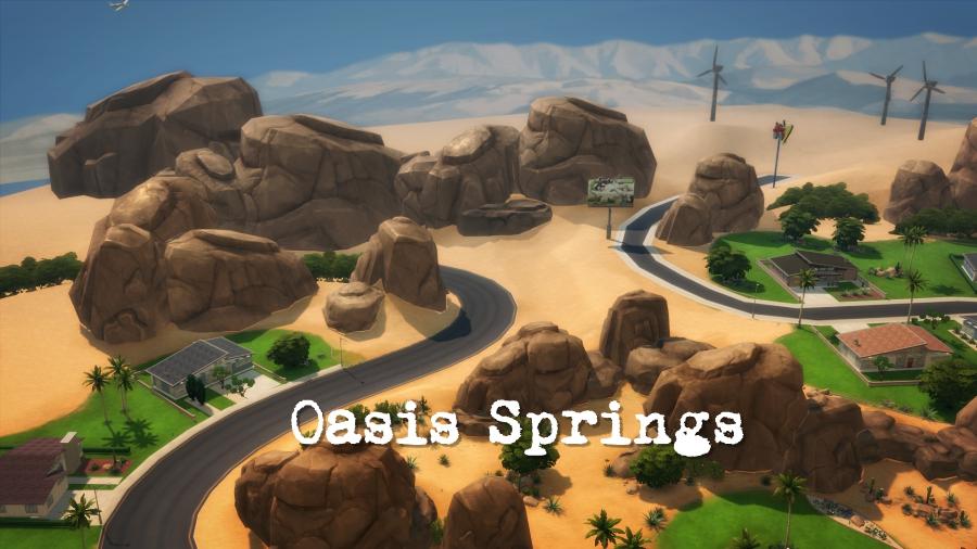 Les cousines à la fac: Fin du Simestre 1 - Chapitre 4: Un retour breff à Oasis Springs