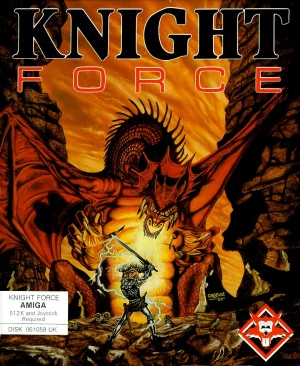 <IMG: Knight Force game box>