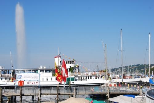 Au bord du Lac à Zenève (photos)