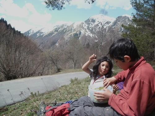 Famille : Saut deth Pish (Varrados) - Val d'Aran