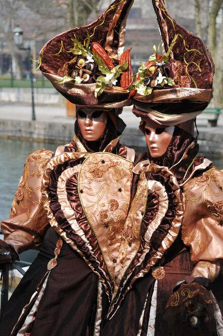 Le Carnaval vénitien d'Annecy 2014
